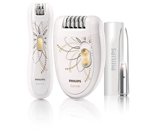 philips facial epilator